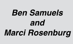 Ben Samuels and Marci Rosenburg